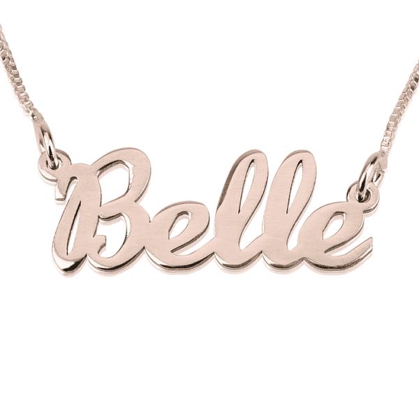 Cursive Name Necklace