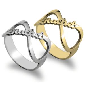 Infinity Name Ring